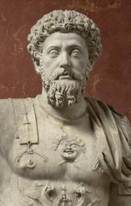Statue of Marcus Aurelius, Emperor from 161-180 Ad