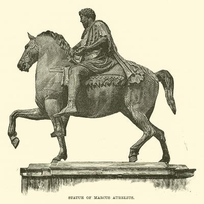 Statue of Marcus Aurelius--Giclee Print