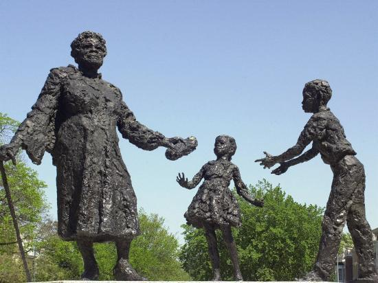 Statue of Mary Mcleod Bethune and African-American Children, Lincoln Park, Washington DC--Photographic Print