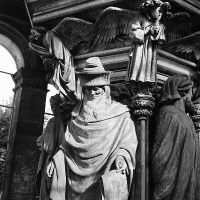 Statue of Moses, for the Well of Moses, Located in the Cloister of the Charterhouse of Champmol-Pietro Ronchetti-Photographic Print