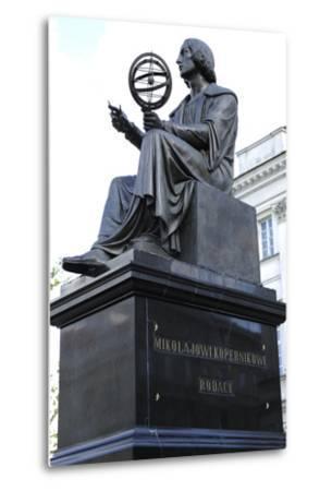 Statue of Nicolaus Copernicus (1473-1543) by Thorvaldsen (1770-1844). Warsaw