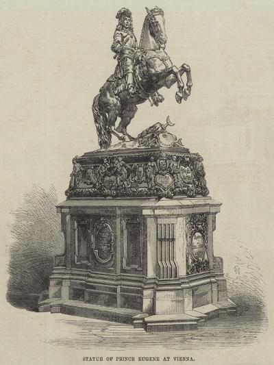 Statue of Prince Eugene at Vienna--Giclee Print