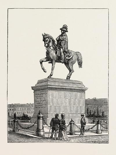 Statue of Prince Schwarzenberg, Vienna, Austria, 1873--Giclee Print