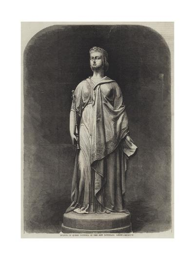 Statue of Queen Victoria in the New Townhall, Leeds-Harden Sidney Melville-Giclee Print