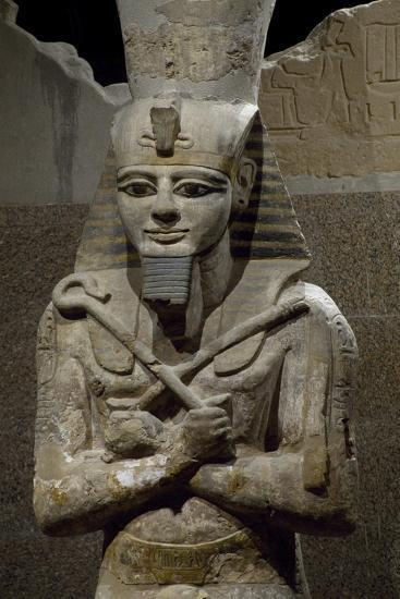 Statue of Ramesses II--Giclee Print