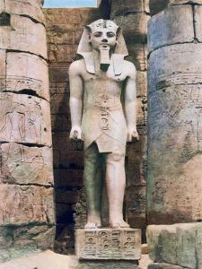 Statue of Ramses II, Luxor, Egypt, 20th Century
