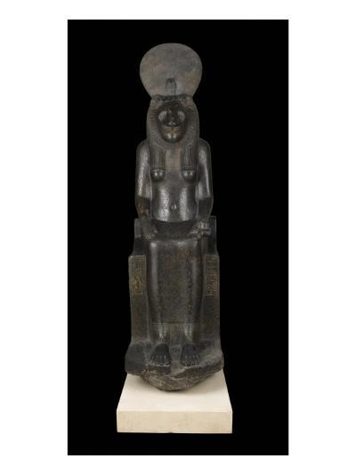 Statue of Sekhmet, Goddess with the Head of a Lioness--Giclee Print