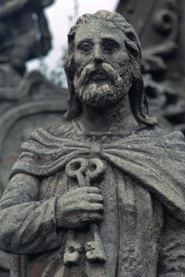 Statue of St Peter. Artist: Unknown-Unknown-Giclee Print