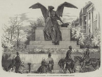 Statue of the Angel of Victory--Giclee Print