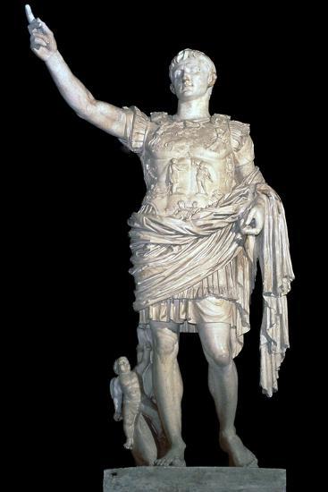 Statue of the Emperor Augustus, 2nd century. Artist: Unknown-Unknown-Giclee Print