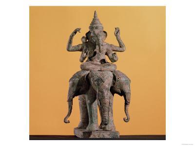 Statue of the Hindu God Ganesh--Giclee Print
