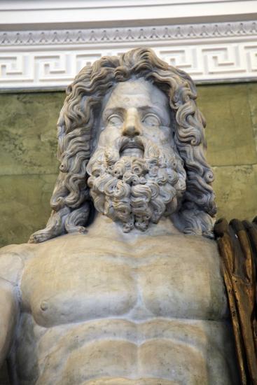 Statue of the Roman God Jupiter, Late 1st Century--Photographic Print