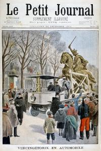 Statue of Vercingetorix in Transit, France 1901
