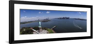 Statue, Statue of Liberty, New York, USA--Framed Photographic Print