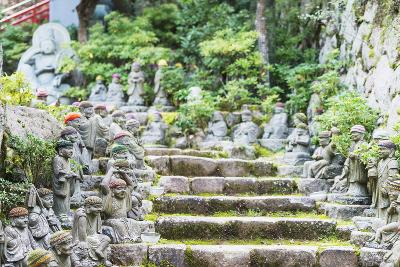 Statues in Daisho-In Buddhist Temple, Miyajima Island, Hiroshima Prefecture, Honshu, Japan, Asia-Christian Kober-Photographic Print