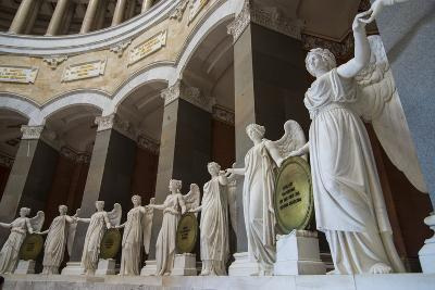 Statues in the Befreiungshalle-Michael Runkel-Photographic Print