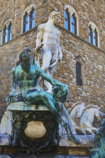 Statues in the Palazzo Vecchio-Terry Eggers-Photographic Print