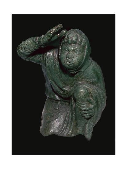 Statuette of a slave kneeling. Artist: Unknown-Unknown-Giclee Print