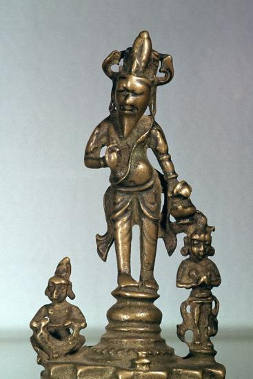 Statuette of Agni, god of fire, 11th century-Unknown-Giclee Print