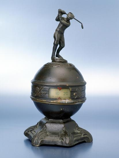 Statuette of golfer, c1910-Unknown-Giclee Print