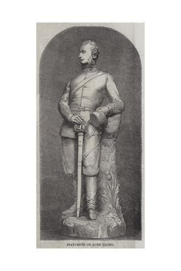 Statuette of Lord Elcho--Giclee Print