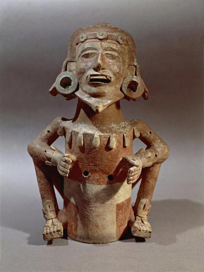 Statuette of Macuilxochitl, God of Flowers, Dance and Music, from Mexico--Giclee Print