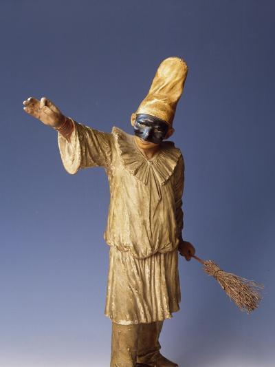 Statuette of Pulcinella, Terracotta, Detail, Italy--Giclee Print