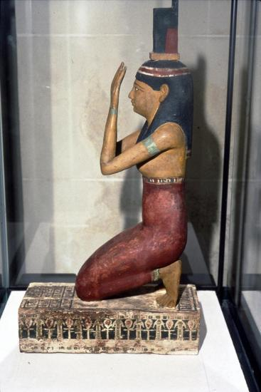 Statuette of supplicant kneeling-Unknown-Giclee Print