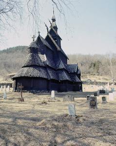 Stave Church at Fagusnes, Borgund