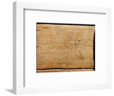 Stave church relief carving-Werner Forman-Framed Giclee Print