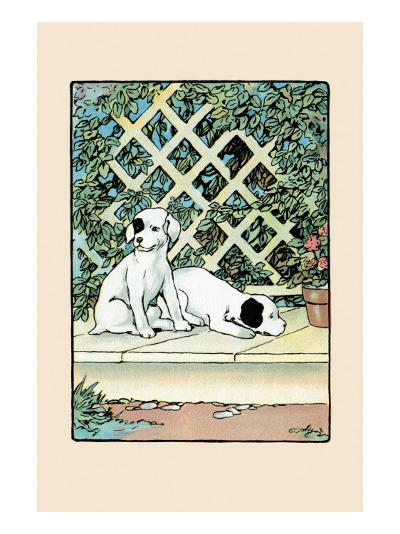 Stay And Watch the House-Julia Dyar Hardy-Art Print