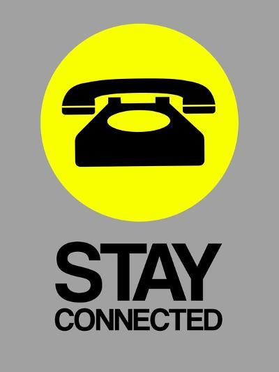 Stay Connected 1-NaxArt-Art Print