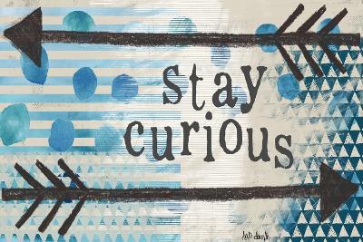 Stay Curious Blue-Katie Doucette-Art Print
