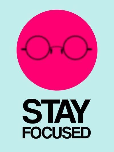 Stay Focused Circle 1-NaxArt-Art Print