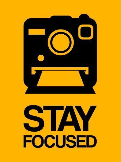 Stay Focused Polaroid Camera 2-NaxArt-Art Print