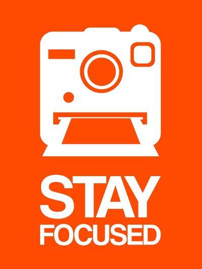 Stay Focused Polaroid Camera 3-NaxArt-Art Print