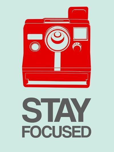 Stay Focused Polaroid Camera 4-NaxArt-Art Print