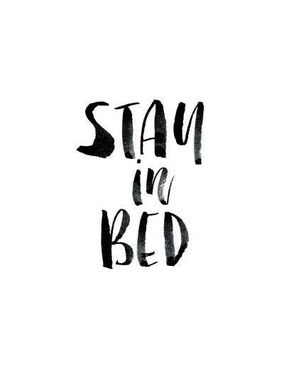 Stay In Bed-Brett Wilson-Art Print