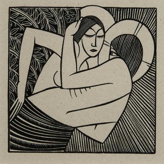 Stay Me with Apples, 1925-Eric Gill-Giclee Print