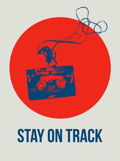 Stay on Track Circle 1-NaxArt-Art Print