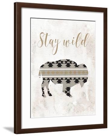 Stay Wild-Tara Moss-Framed Art Print