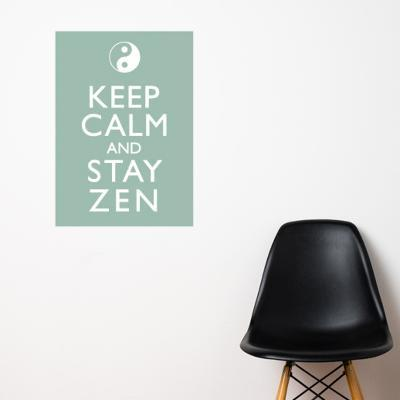 Stay Zen Wall Decal--Wall Decal