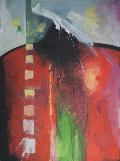 Steadman Encounter-Tim Nyberg-Giclee Print