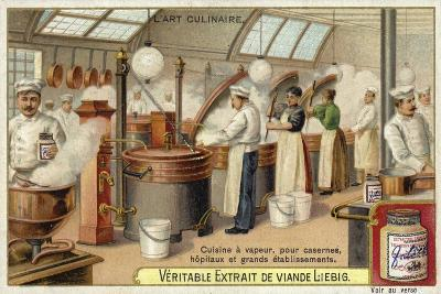 Steam Cooking, for Barracks, Hospitals and Large Establishments--Giclee Print