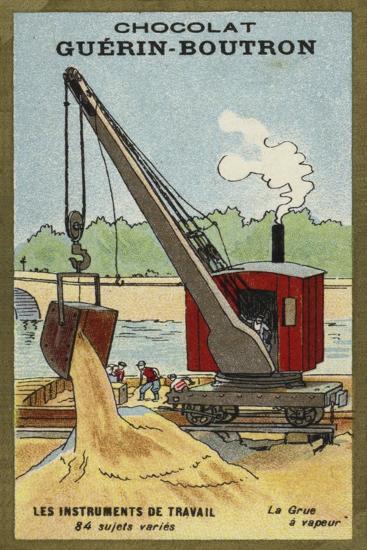 Steam Crane--Giclee Print