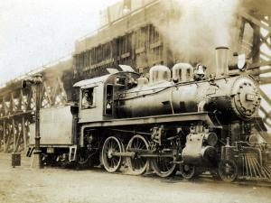 Steam Engine from the Canadian Pacific Railway, Vancouver, Canada