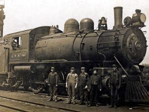 Steam Engine from the Canadian Pacific Railway, Vancouver