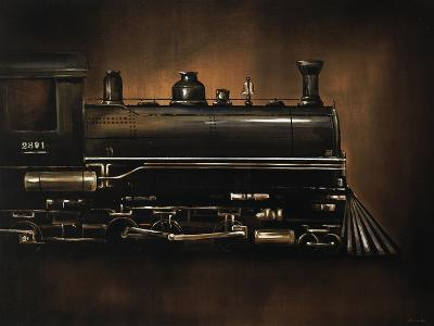 Steam Engine-Sydney Edmunds-Giclee Print