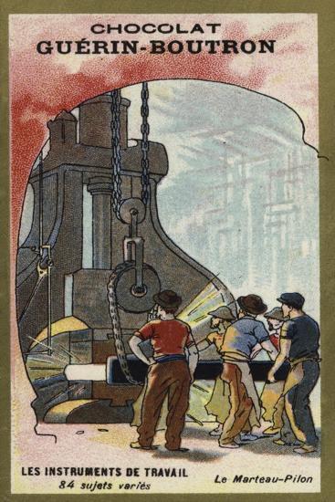 Steam Hammer--Giclee Print