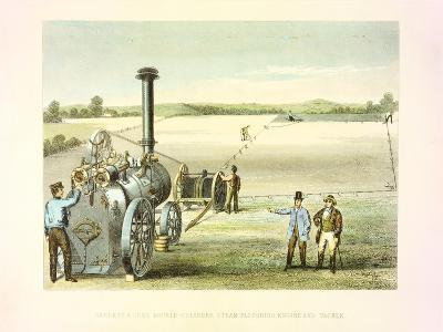Steam Ploughing Tackle, C1860--Giclee Print